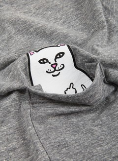 Rip N Dip - Lord Nermal Pocket T-shirt, Heather Grey 2
