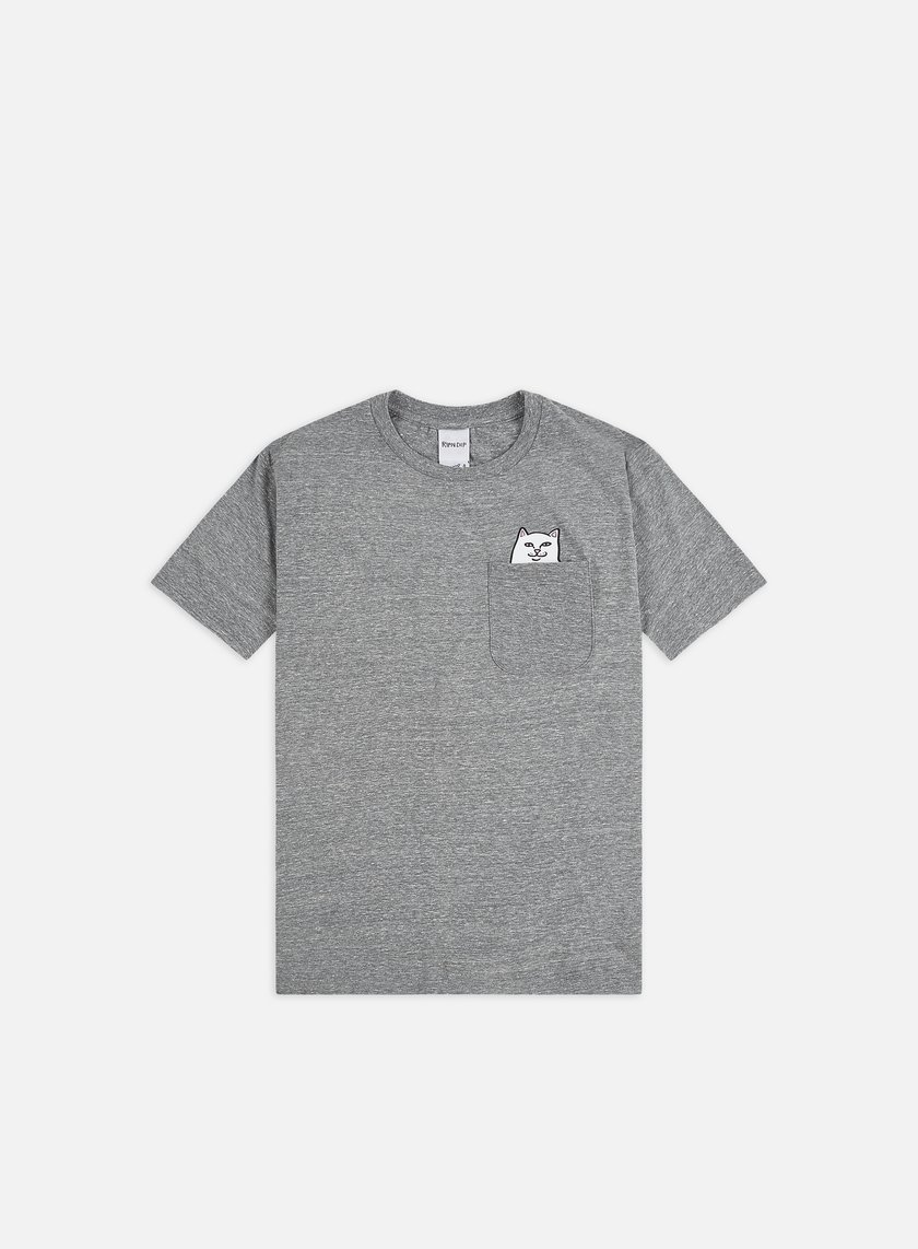 Rip N Dip - Lord Nermal Pocket T-shirt, Heather Grey
