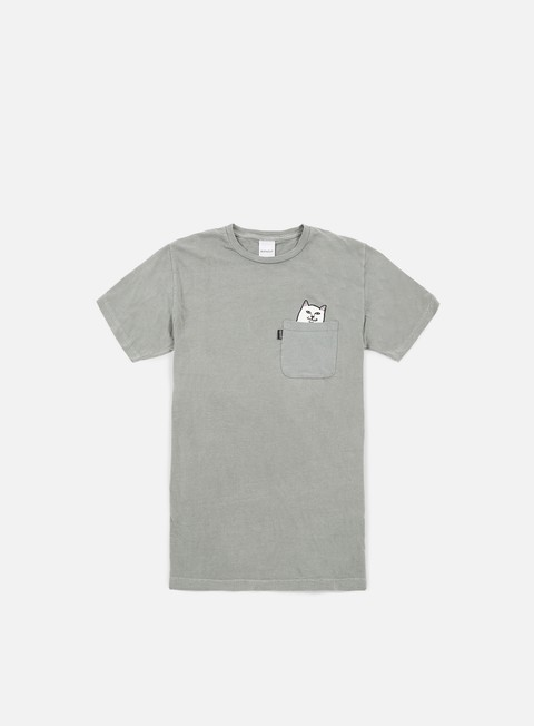 t shirt rip n dip lord nermal pocket t shirt light grey