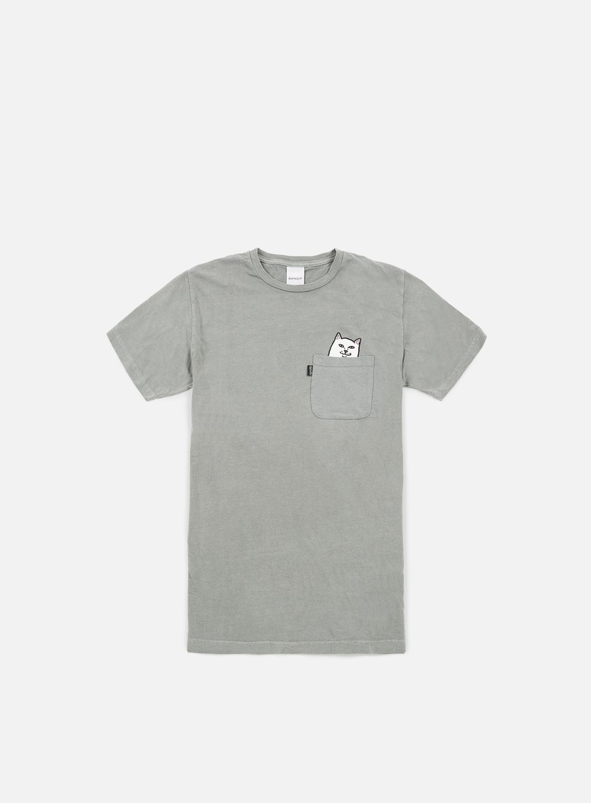 Rip N Dip - Lord Nermal Pocket T-shirt, Light Grey