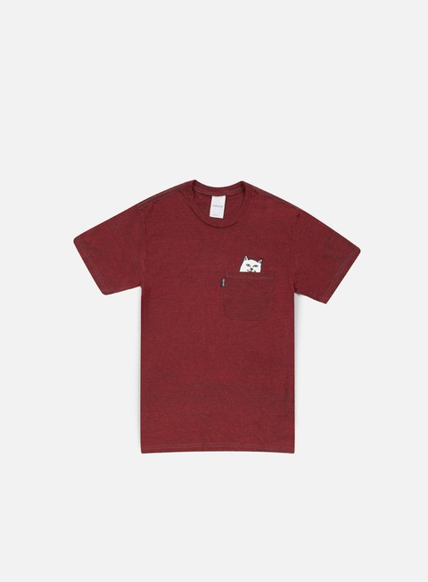 t shirt rip n dip lord nermal pocket t shirt maroon