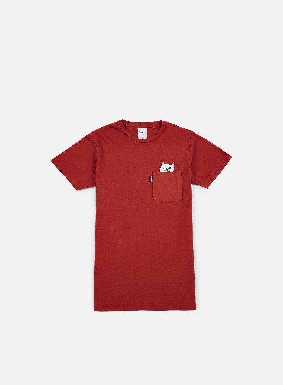 Rip N Dip - Lord Nermal Pocket T-shirt, Maroon