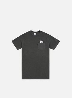 Rip N Dip - Lord Nermal Pocket T-shirt, Over Dyed Black