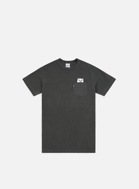t shirt rip n dip lord nermal pocket t shirt over dyed black