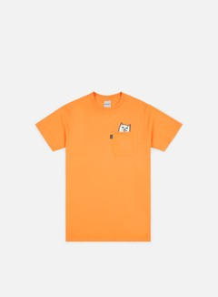 Rip N Dip - Lord Nermal Pocket T-shirt, Over Dyed Orange