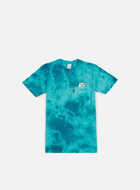t shirt rip n dip lord nermal pocket t shirt turquoise lighting wash