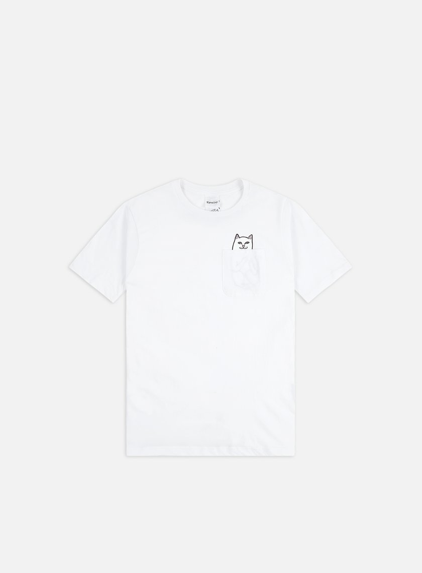 Rip N Dip - Lord Nermal Pocket T-shirt, White
