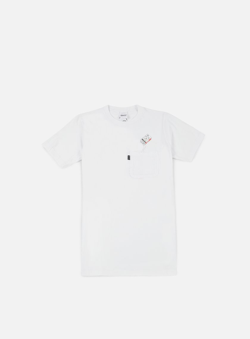 Rip N Dip - Milk Carton Pocket T-shirt, White