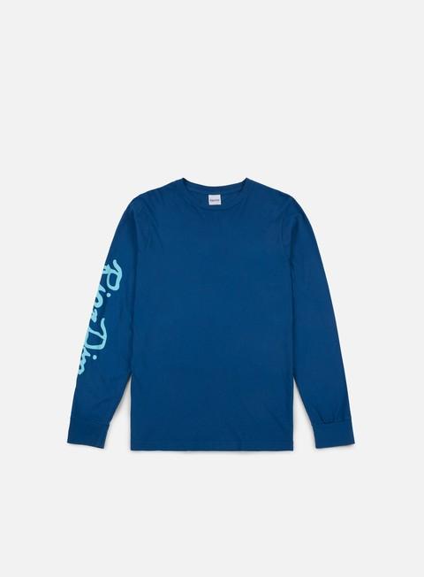 t shirt rip n dip nerm beard ls t shirt cobalt blue