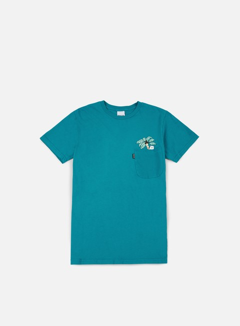 t shirt rip n dip nermal leaf pocket t shirt turquoise