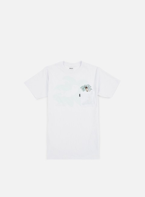 t shirt rip n dip nermal leaf pocket t shirt white