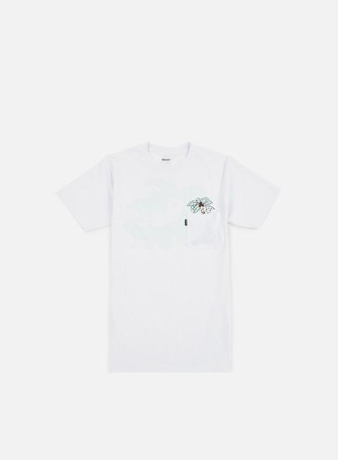Short Sleeve T-shirts Rip N Dip Nermal Leaf Pocket T-shirt