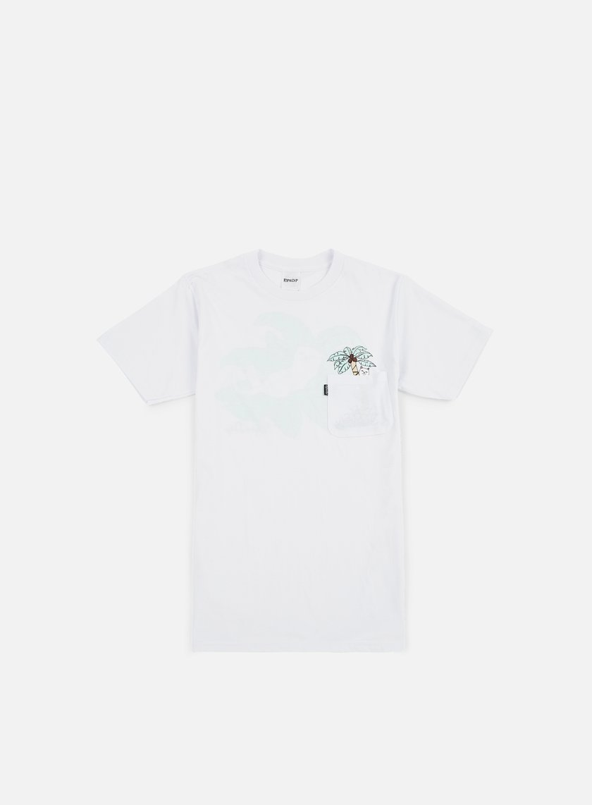 Rip N Dip - Nermal Leaf Pocket T-shirt, White