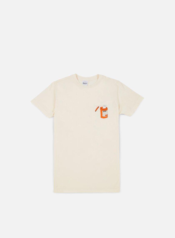 Rip N Dip - Nermal Pills T-shirt, Natural