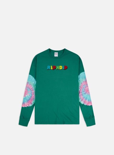 Outlet e Saldi T-shirt a Manica Lunga Rip N Dip Nermio LS T-shirt