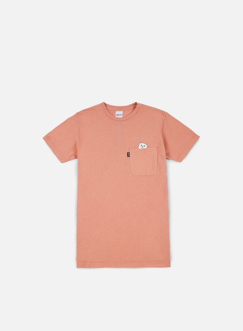 t shirt rip n dip nermshroom pocket t shirt apricot