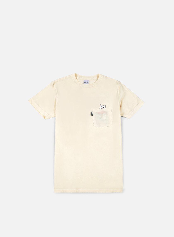 Rip N Dip - Nermshroom Pocket T-shirt, Natural