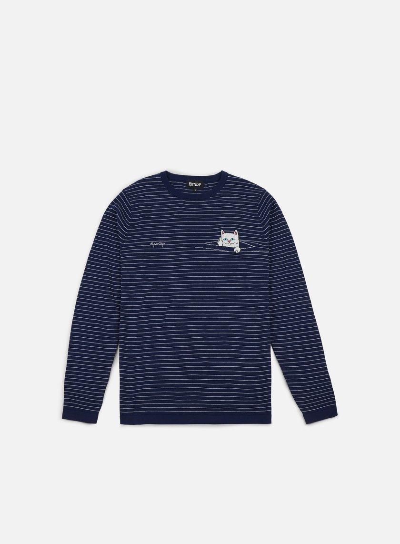 Rip N Dip Peeking Nermal Knit LS T-shirt