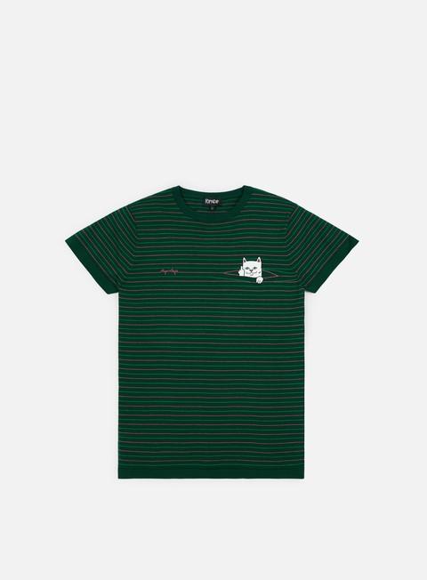Outlet e Saldi T-shirt a Manica Corta Rip N Dip Peeking Nermal Knit T-shirt