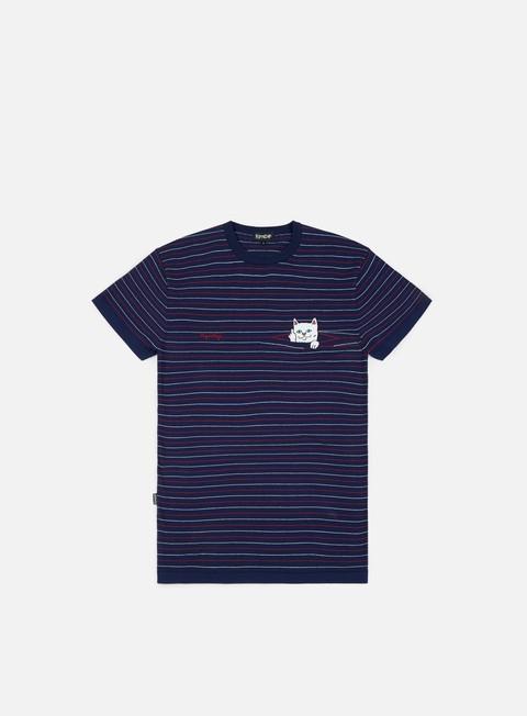 T-shirt a Manica Corta Rip N Dip Peeking Nermal Knit T-shirt