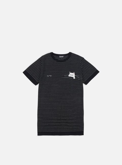 Rip N Dip Peeking Nermal Stripes T-shirt