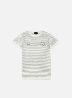 Rip N Dip - Peeking Nermal Stripes T-shirt, White 1