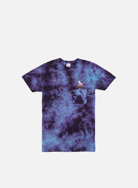 t shirt rip n dip psychedelic nermal pocket t shirt blue acid wash