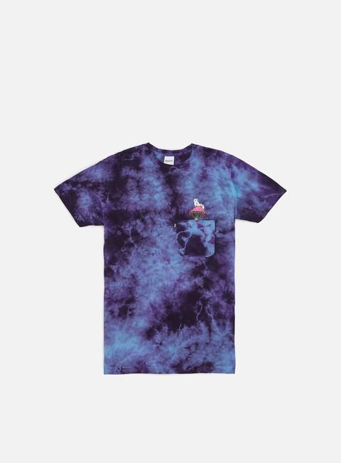 T-shirt a Manica Corta Rip N Dip Psychedelic Nermal Pocket T-shirt