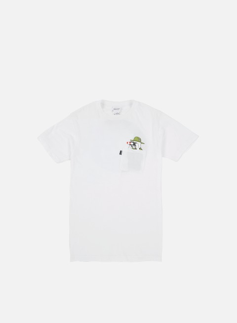 Outlet e Saldi T-shirt a Manica Corta Rip N Dip Pussy Patrol Pocket T-shirt