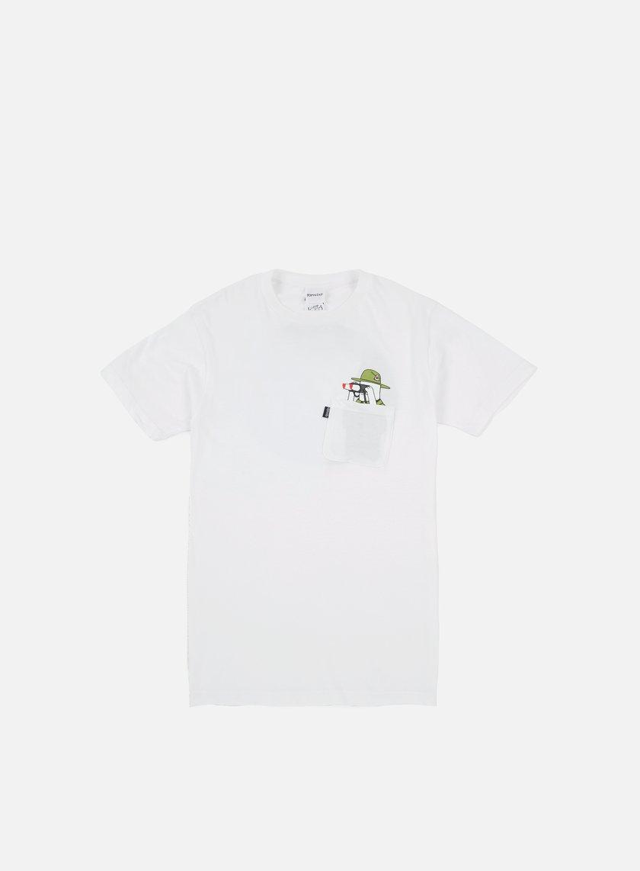 Rip N Dip - Pussy Patrol Pocket T-shirt, White
