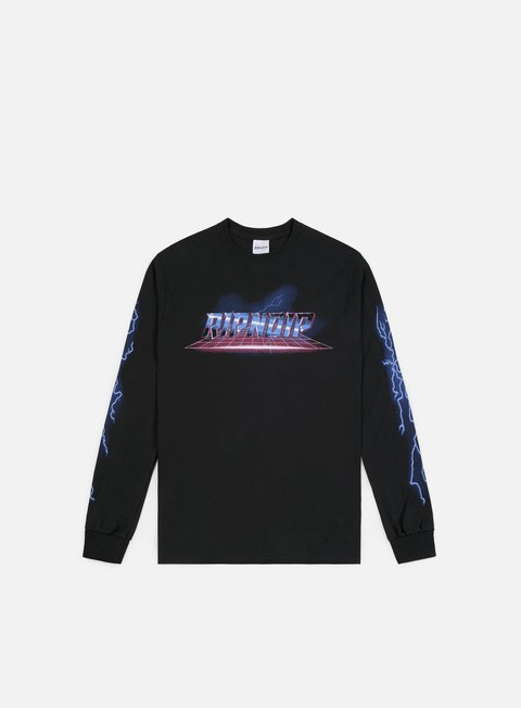 t shirt rip n dip rave ls t shirt black