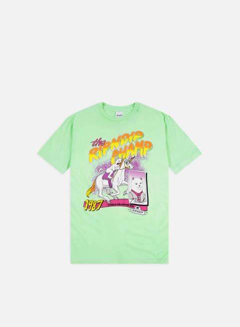 Outlet e Saldi T-shirt a Manica Corta Rip N Dip Riding Champ T-shirt