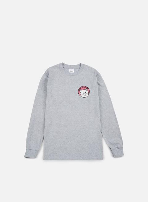 t shirt rip n dip stop bein a ls t shirt sport grey