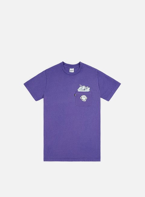 t shirt rip n dip stuffed pocket t shirt purple