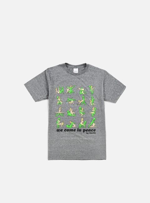 Outlet e Saldi T-shirt a Manica Corta Rip N Dip We Come In Peace T-shirt