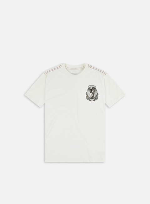 Short sleeve T-shirts Rvca George Thompson Skull Bonnet T-shirt