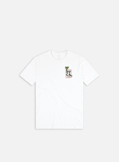 Short sleeve T-shirts Rvca Snake Eyes T-shirt
