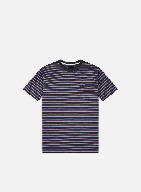 Pocket T-shirts Rvca Toluca Micro Stripe T-shirt