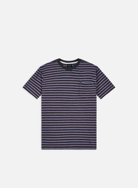 Short Sleeve T-shirts Rvca Toluca Micro Stripe T-shirt