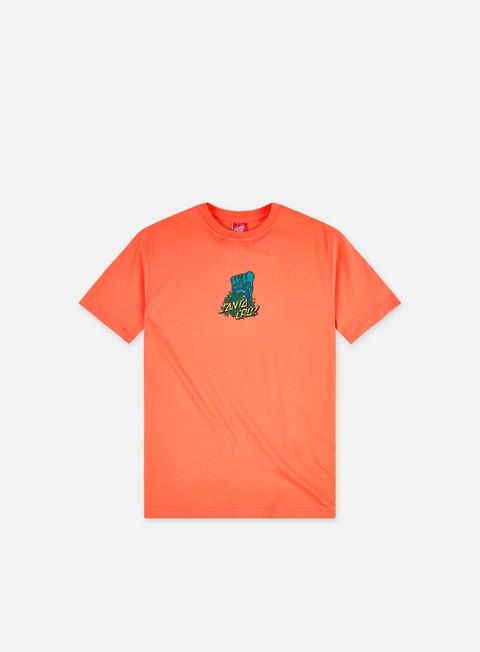 Short sleeve T-shirts Santa Cruz Bigfoot Screaming Hand T-Shirt