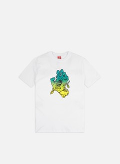Santa Cruz - Bio Hand T-shirt, White