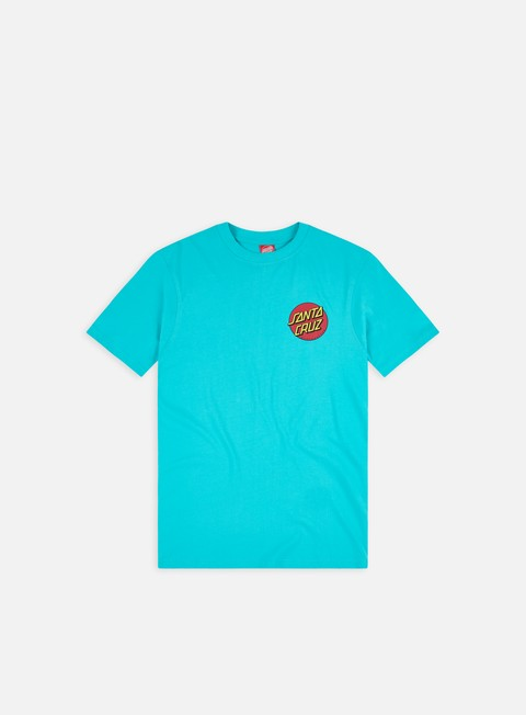 Short sleeve T-shirts Santa Cruz Classic Dot Chest T-Shirt