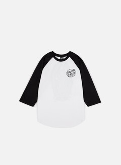 Santa Cruz - Dressen Guadalupe Baseball T-shirt, Black/White 1