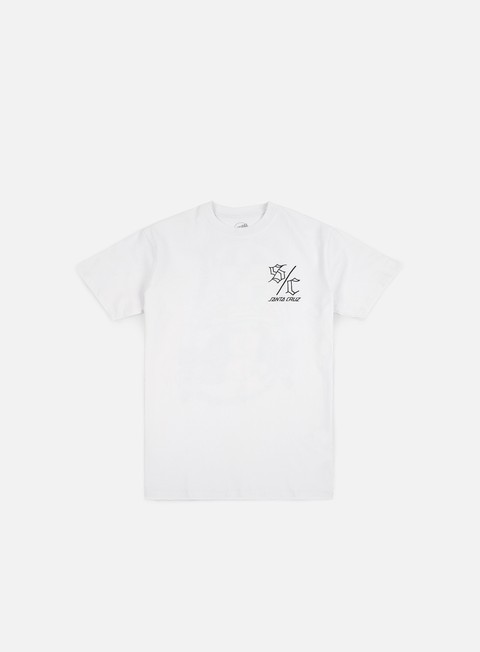 T-shirt a Manica Corta Santa Cruz Dressen Trucha T-shirt