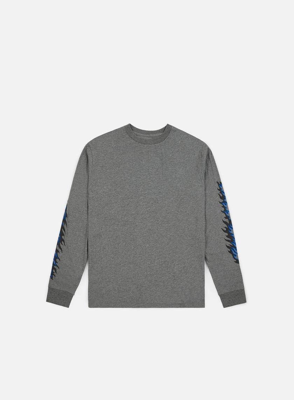 Da Uomo Manica Lunga shirt Santa Dot A T Ls Cruz Flame LRj35A4