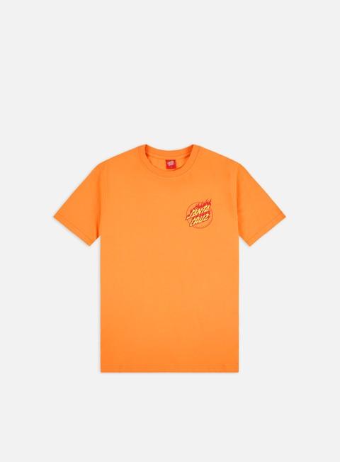 Short Sleeve T-shirts Santa Cruz Flame Hand T-shirt
