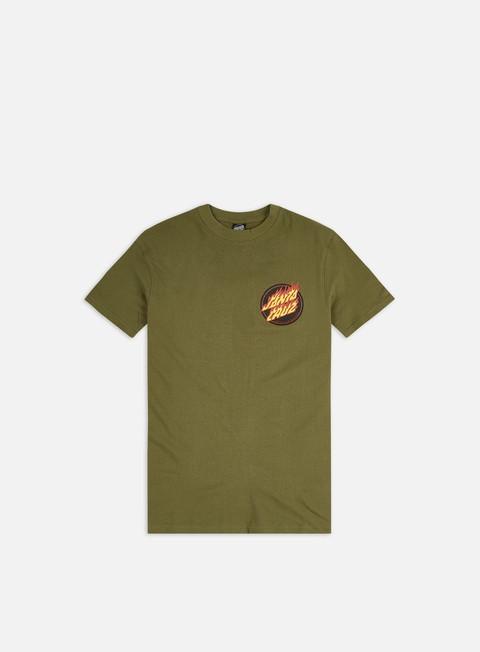 Santa Cruz Flaming Japanese Dot T-shirt