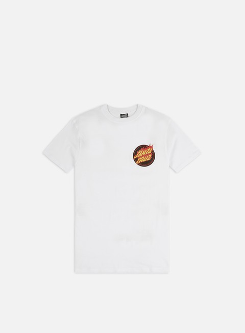 T-shirt a Manica Corta Santa Cruz Flaming Japanese Dot T-shirt