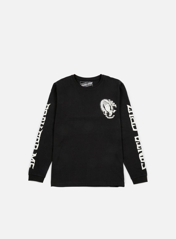 Santa Cruz - Guadalupe LS T-shirt, Black