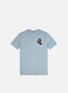 Santa Cruz - Hand Splatter T-shirt, Powder Blue